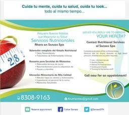 Spa Senses Nutrition