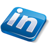 Footer Lindedin icon